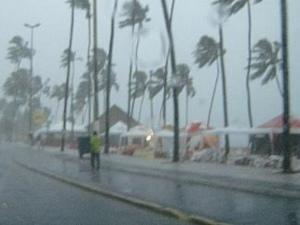 Defesa Civil alerta para chuva forte em Maceió nos próximos dias | Gazeta Web