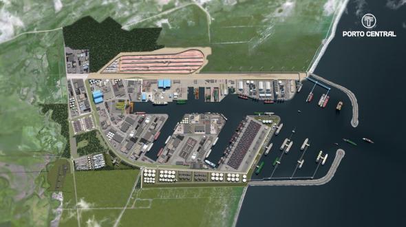 Mais que um porto: o Porto Central oferece uma inovadora solução logística | Informativo dos Portos
