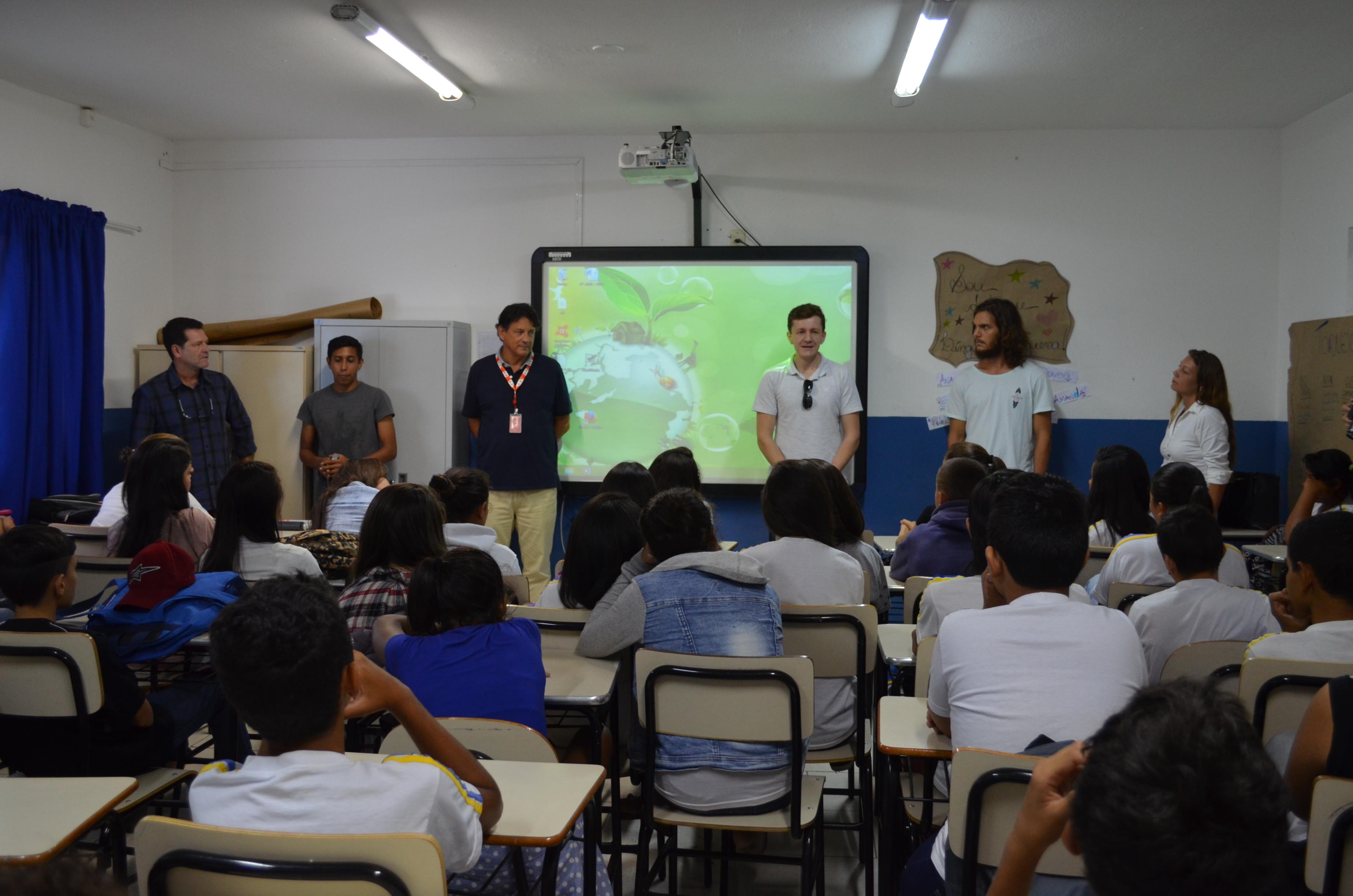 Portonave patrocina projeto de educação ambiental   Portonave