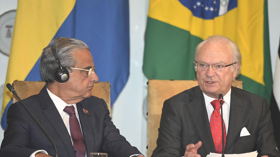 Presidente da CNI e rei da Suécia debatem oportunidades de negócios entre os dois países | Export News
