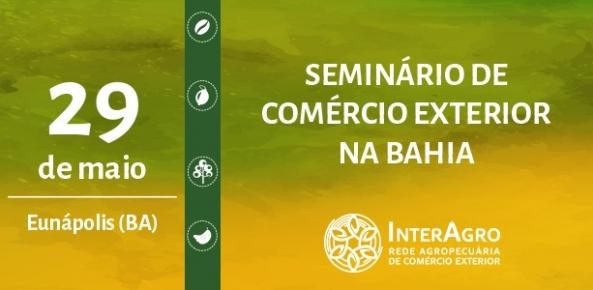 BRASÍLIA: Seminário na Bahia debate importância das exportações para o produtor rural | CNA Brasil