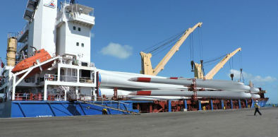 Porto do Pecém: pás eólicas se consolidam como uma das principais mercadorias movimentadas