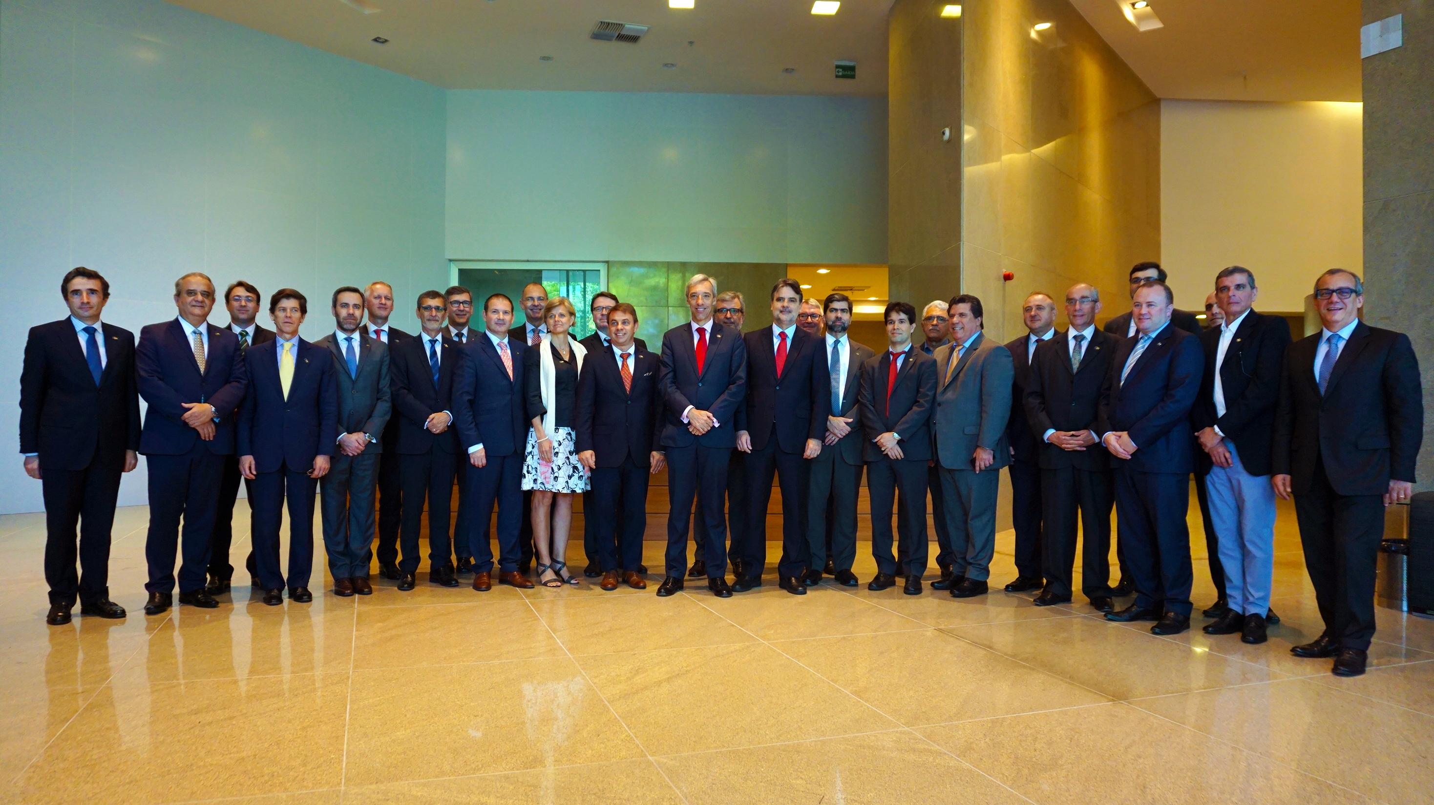 Embaixadores da UE conhecem oportunidades de negócios em Suape | Suape