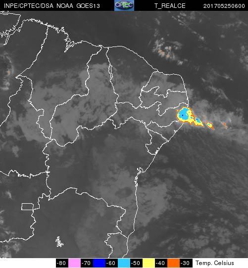 Chuvas internsas no Nordeste brasileiro   INPE