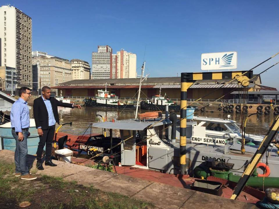 Dragagem e batimetria ocorrem na hidrovia gaúcha | Porto do Rio Grande