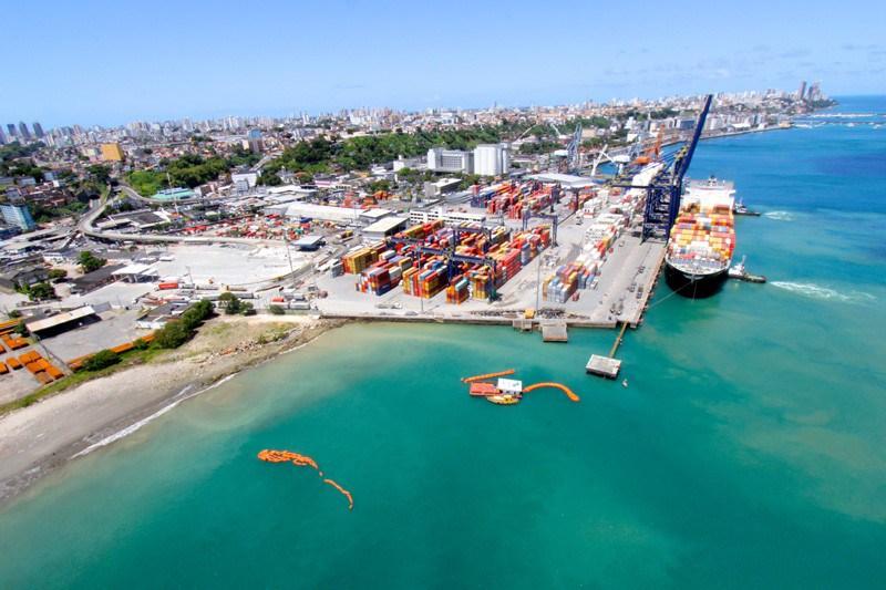 Importação e cabotagem são destaques do Tecon Salvador no primeiro quadrimestre de 2017 | Portal Marítimo
