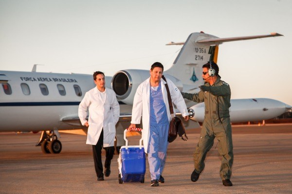 SAÚDE: Em um ano, FAB transporta 275 órgãos para transplante | Portal Brasil