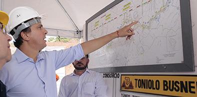 CE: Segurança hídrica: maior túnel do Cinturão das Águas é concluído no Cariri | Governo do Ceará