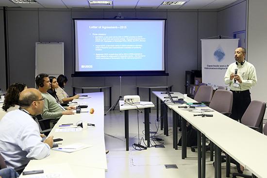 Serviço Geológico dos Estados Unidos capacita especialistas brasileiros em operação de estações de monitoramento | ANA