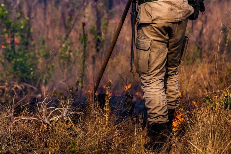 Centro oferece informações e auxilia no combate a queimadas | Portal Brasil