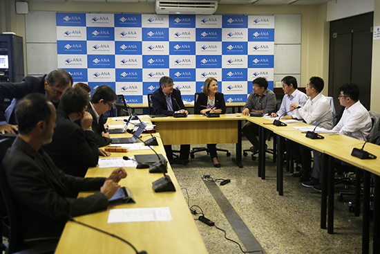 Em Brasília, delegação sul-coreana aborda os usos da água | Agência Nacional de Águas