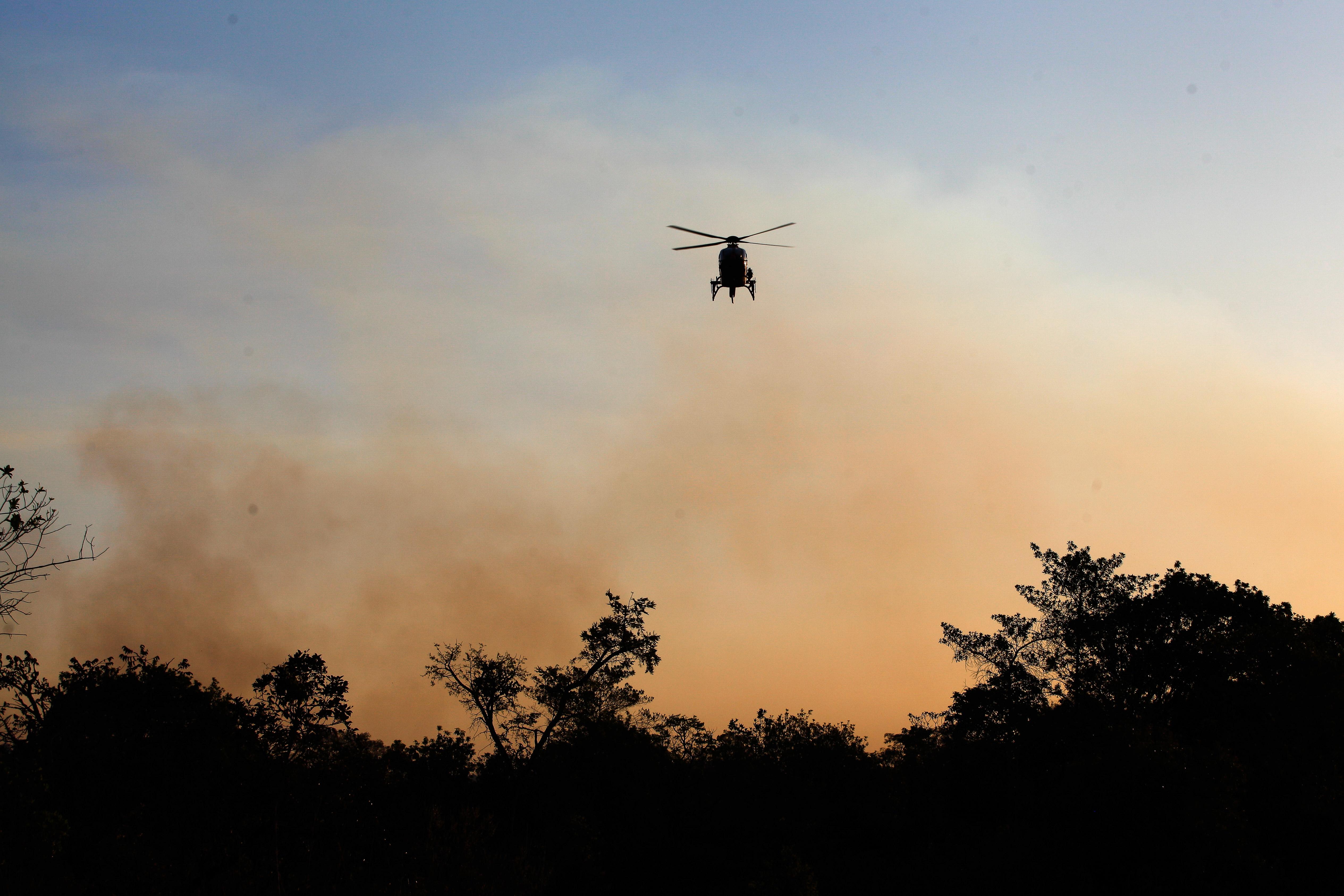 Ministro acompanha ações de combate ao fogo | Ministério do Meio Ambiente