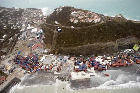 Furacão Irma: FAB resgata 14 pessoas na Ilha de San Martín | Agência Brasil