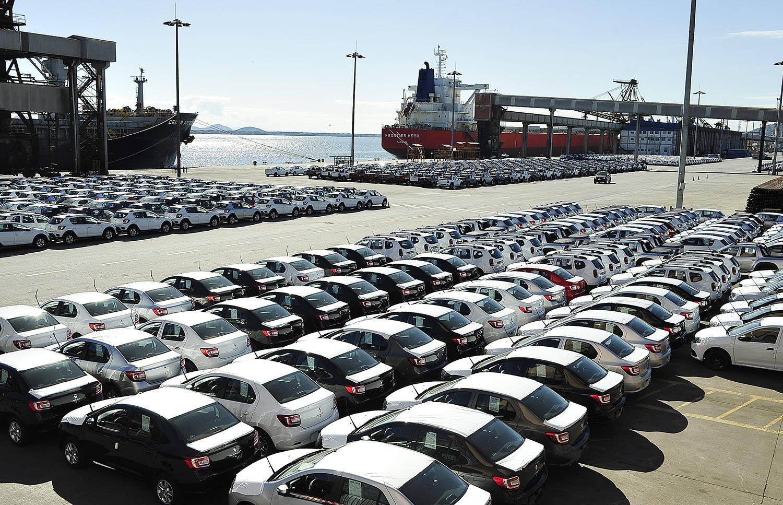 Exportação de veículos por Paranaguá bate recorde | Portal de Notícias do Paraná