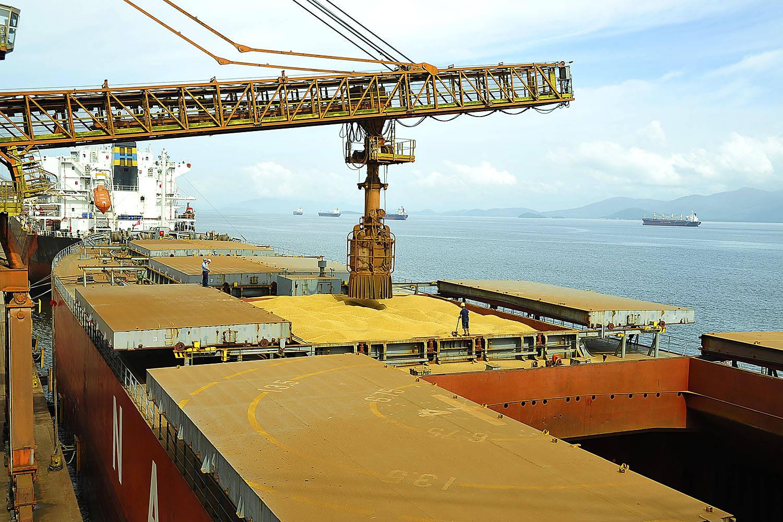 Paranaguá exporta 2 milhões de toneladas de grãos em agosto | Agência de Notícias do Paraná